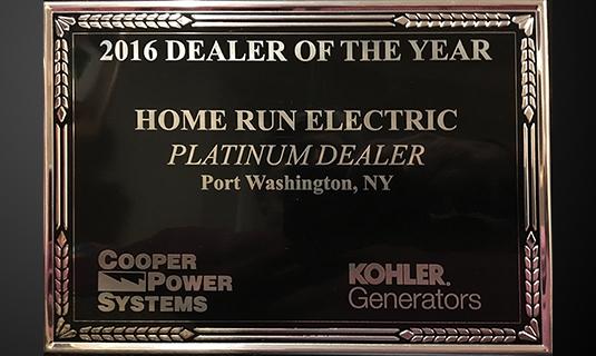 Home Run Electric an Authorized KOHLER Generator Dealer | Generator ...